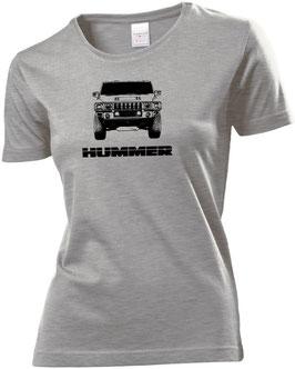 Hummerfreak T-shirt ''Hummer H2 front''