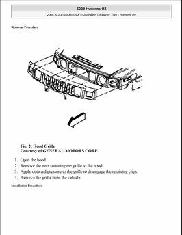 Hummer H2 Zubehör und Ausstattung Außenverkleidung