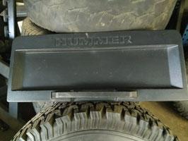 Hummer H2 Kennzeichenhalter