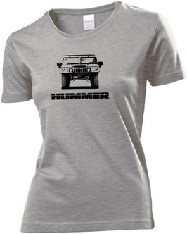 Hummerfreak T-shirt ''Hummer H1 front''