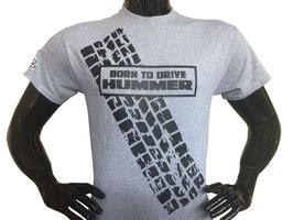 Hummerfreak T-shirt ''born to drive HUMMER''