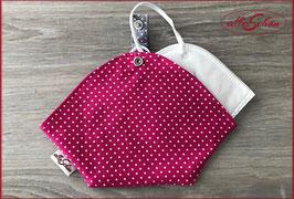 Maskentäschchen pink (W 29)