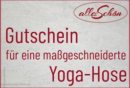 Gutschein Yogahose