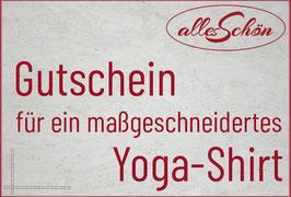 Gutschein Yogashirt