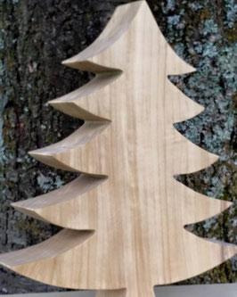 Massivholz Tanne mit 5 Ästen