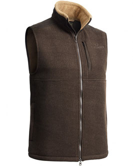 CHEVALIER Milestone Mens  Fleece Weste braun