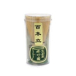100本立茶筅 修竹園 (中国産)