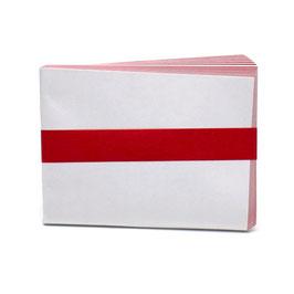 紙釜敷 紅白