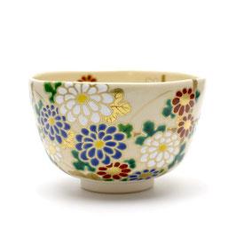 菊茶盌 能久作