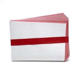 紙釜敷 檀紙 紅白