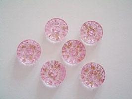 Knopf, 2-Loch, 19 mm, Farbe 46 rosa