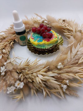 Raw Rainbow Cheesecake mit CBD Öl