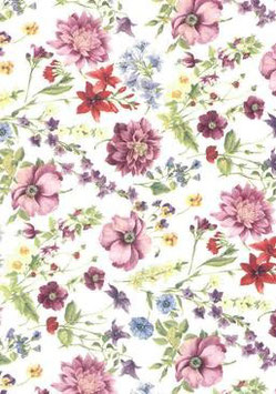 Floral Potpourri Small Clear