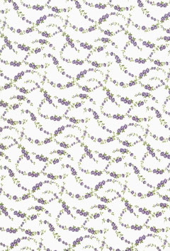 Flora Violet Small (Clear)