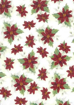 Poinsettia Small Clear