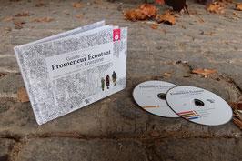 Guide du promeneur écoutant - Livre de 100 pages + 2CD