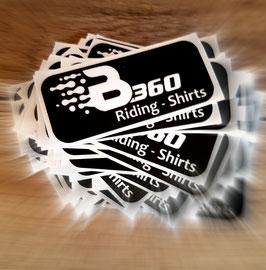 "Aufkleberset ""B360 Riding-Shirts"""