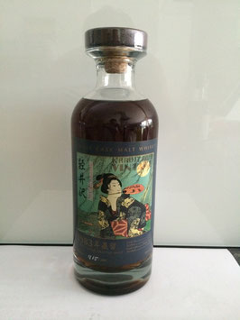 Karuizawa 1983 Geisha Label for Taiwan