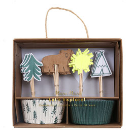 "MERI MERI  Cupcake-Kit ""Let's explore"""