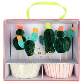 "MERI MERI Kaktus Cupcake-Kit ""Kaktus"""