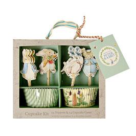 """MERI MERI Peter Hase Cupcake-Kit """"Peter Rabbit and friends"""""""