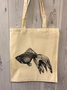 Stofftasche Goldfisch