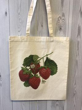 Stofftasche Erdbeerstrauch