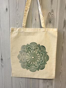 Stofftasche Green Mandala