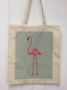 Stofftasche Flamingo