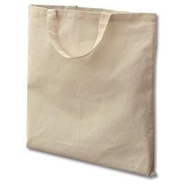 Stofftasche mit kurzen Henkeln FAIRTRADE