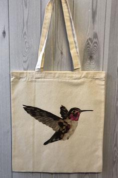 Stofftasche Poly Kolibri