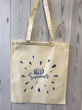Stofftasche Hello Summer