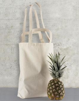 Stofftasche zwei verschiedenen Henkeln (kurz und lang)
