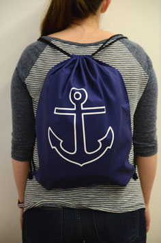 Simple Anchor Navy