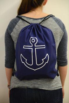 Simple Anchor Navy