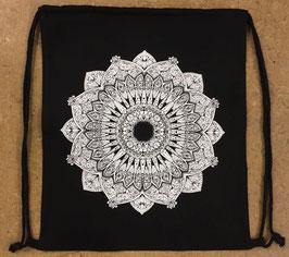 Turnsack Mandala schwarz