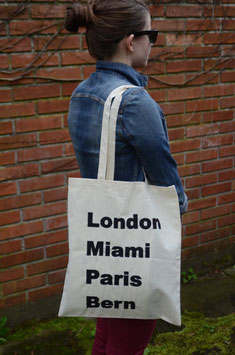 Stofftasche Cities
