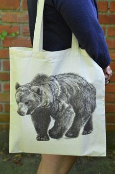 Stofftasche Bär