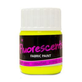 Stoffmalfarben, fluoreszierend