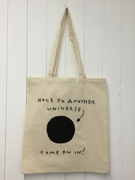 Stofftasche Hole to another Universe