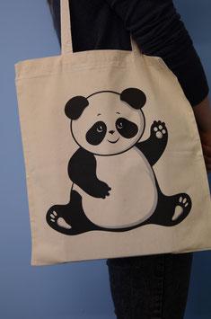 Stofftasche Panda
