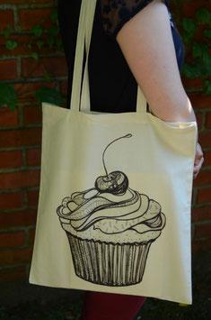 Stofftasche Cupcake