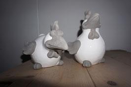 Keramikvogel weiß Nr. 29