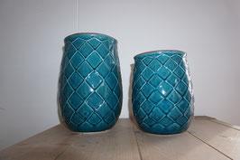 Keramikgefäß türkis Nr.66