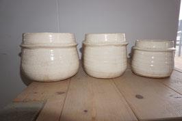 Keramiktopf creme Nr.76