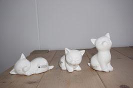 Keramikkatze klein Nr.92