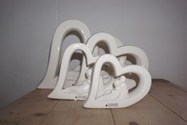 Keramikherz mit Liebespaar Nr.99