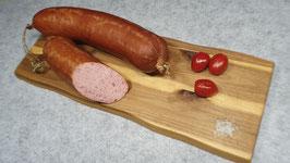 Münschers 1953er Jadgwurst - geräuchert im Naturdarm