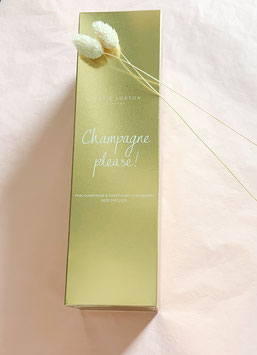 Raumduft Champagne please