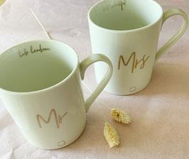 Tassen Mr and Mrs